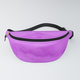 Magenta Fog Surrounding Anchorage Mountains Fanny Pack