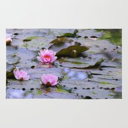 Water Lilies Rug