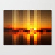 Nature Pixels No. 19 Canvas Print