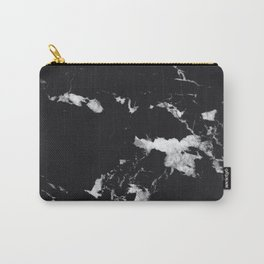Black Marble #3 #decor #art #society6 Carry-All Pouch