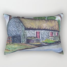 Thatch Cottage Rectangular Pillow