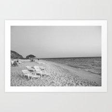 ocean 2 Art Print
