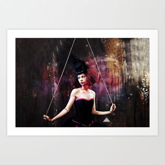 Marionette Magic 1 of 4 Art Print