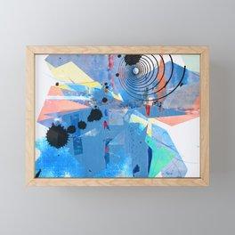 Origami Alarm II Framed Mini Art Print