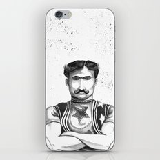 The Strong Man iPhone & iPod Skin