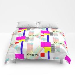 "Cocktail ""K"" - Kir Royal Comforters"