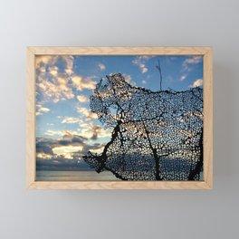 Florida sunrise Framed Mini Art Print
