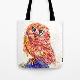 Caffeinated Owl Tote Bag