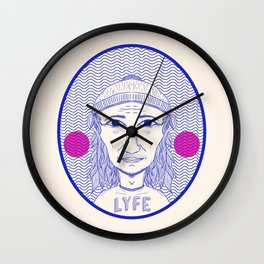 LYFE Wall Clock