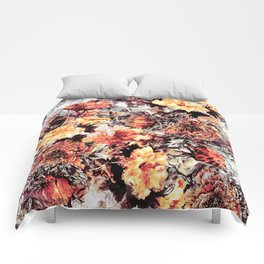 RPE FLORAL ABSTRACT Comforters