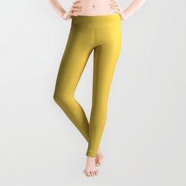 Primrose Yellow | Pantone Fashion Color Spring : Summer 2017 | Solid Color Leggings