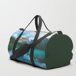 The Mountains and Blue Water - Nature Photography Duffle Bag