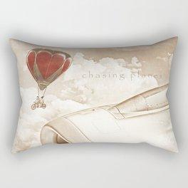 Wednesday Dream - Chasing Planes Rectangular Pillow