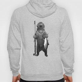 Harpoon Fishing Bear Hoody