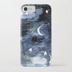 Twilight Night Sky iPhone 7 Slim Case