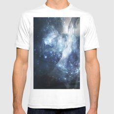 Divine Touch White MEDIUM Mens Fitted Tee