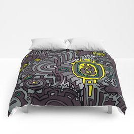 BELLY FIRE Comforters
