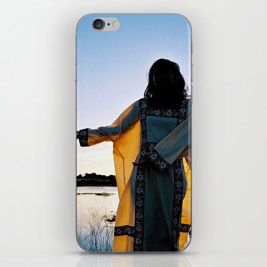WAYUU YOUNG NATIVE LADY iPhone & iPod Skin