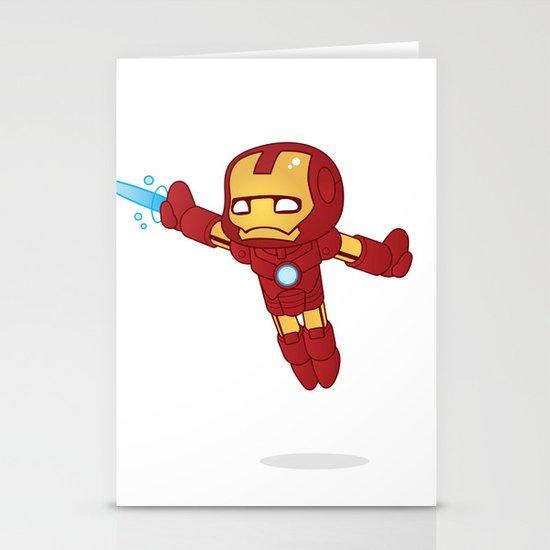 IRON MAN ROBOTIC Stationery Cards