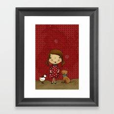 Agnes Pure Joy Framed Art Print