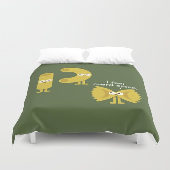 Pasta Party Duvet Cover