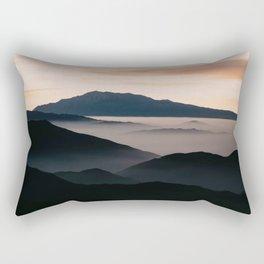 CLOUDY MOUNTAINS Rectangular Pillow