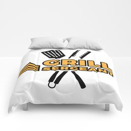 Grill Sergeant - Barbecue BBQ Grilling Meat Comforters