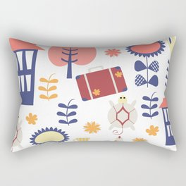 Trave patter 4gf Rectangular Pillow