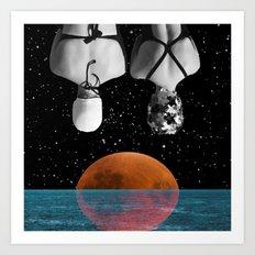 Planet Pool Art Print