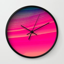 pink candy Wall Clock