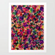 Floral Explosion Art Print