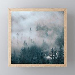 Hidden Path Framed Mini Art Print