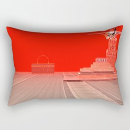 Squared: One Sided Transparency Rectangular Pillow