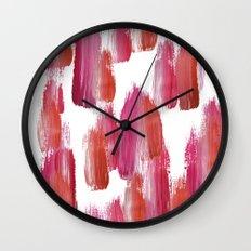 Pink Mood Wall Clock