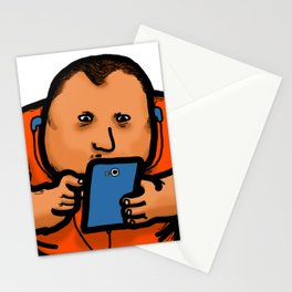 Cellphone Social Media Isolation Stationery Cards