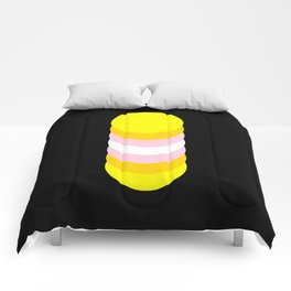 Pangender in Shapes Comforters