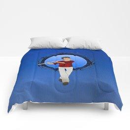 Flute Player Comforters