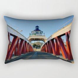 Low Level Bridge Rectangular Pillow