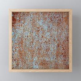 Call Me Rusty. Framed Mini Art Print