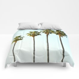 Four Palm Trees Comforters