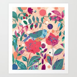 A Day Before Easter Art Print