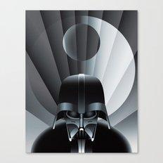Deco Vader (design size 11x14) Canvas Print