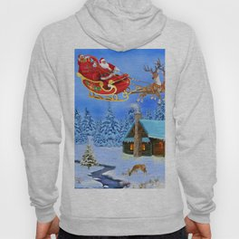 Here Comes Santa Claus Hoody