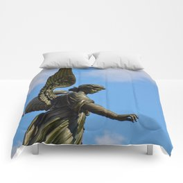 Bethesda Fountain Comforters