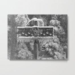 Snow Totem Metal Print