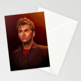 Last of the Time Lords - Doctor Who Stationery Cards