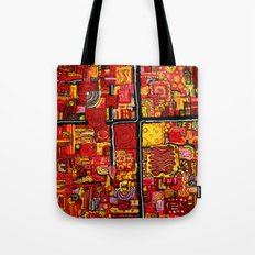 Ketchup and Mustard Tote Bag