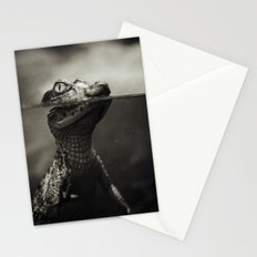 Baby crocodile Stationery Cards