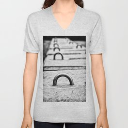 City Shapes Unisex V-Neck