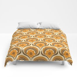 Orange  Daisy Dream Comforters